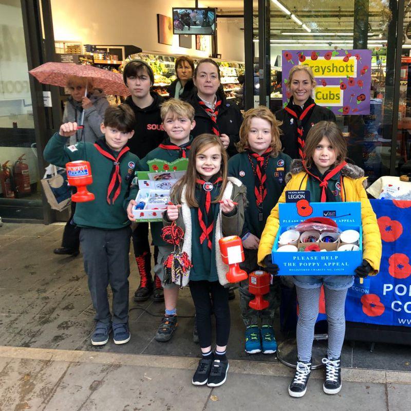 Grayshott Cubs Fundraising